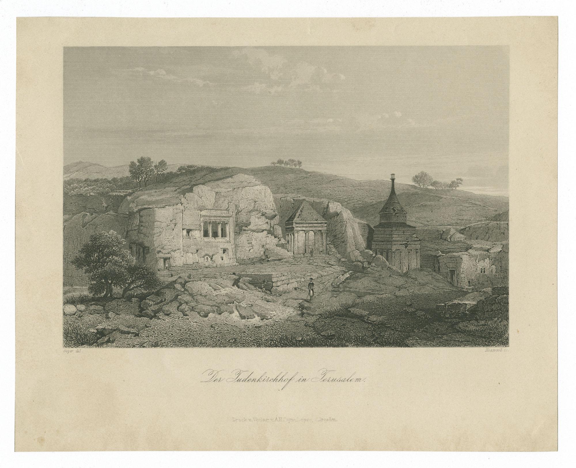 Der Judenkirchhof in Jerusalem