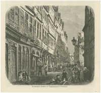 Die Judengasse in Frankfurt a. M.