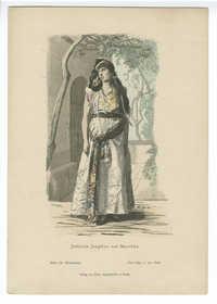 Jüdische Jungfrau aus Marokko