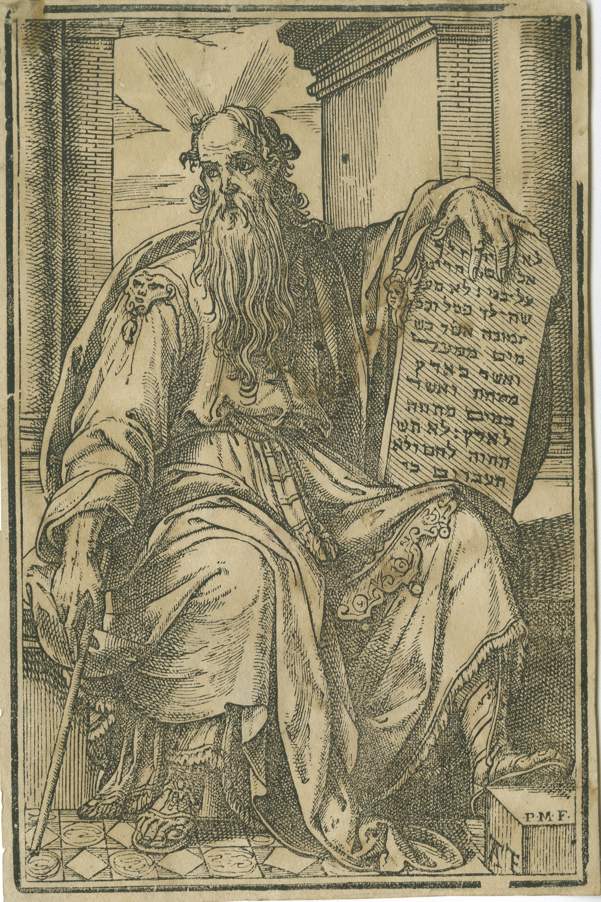 [Moses and the Ten Commandments]