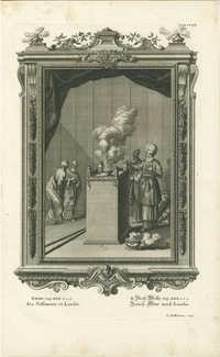 Exodi Cap. XXX v. 1.2 Ara Suffimenti ex Lundio / II. Buch Mosis Cap. XXX v. 1.2 Rauch-Altar nach Lundio