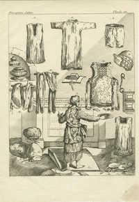 [Les habits, les ornemens, la coëffure du Grand-Prêtre & ceux des Ministres ordinaires font, après les meubles du tabernacle…]