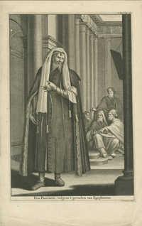 Een Pharizeer, volgens 't gevoelen van Epiphanius
