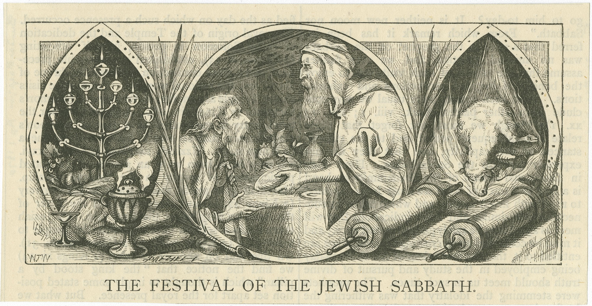 The Festival of the Jewish Sabbath
