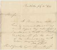 Letter to Thomas S. Grimke, July 20, 1832