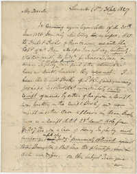Letter to Thomas Grimke from Langdon Cheves, July 31, 1827