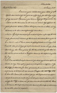 Letter from Thomas S. Grimke to Reverend Louis Dwight, June 16, 1830