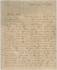 Copy of letter to Langdon Cheves from Thomas Grimke, August 10, 1827