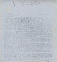 Letter from Gertrude Sanford Legendre, April 1, 1943
