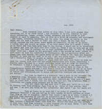 Letter from Gertrude Sanford Legendre, August 10, 1944