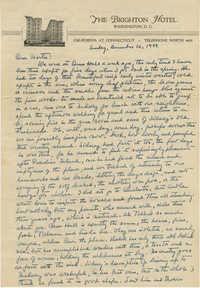 Letter from Ben Kittredge, December 10, 1944