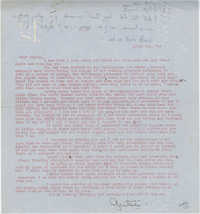 Letter 1 from Gertrude Sanford Legendre, April 3, 1943