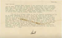 Undated Letter from Armant Legendre