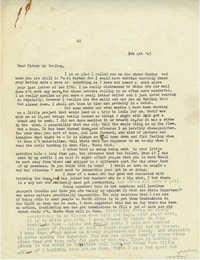 Letter 1 from Gertrude Sanford Legendre, February 4, 1943