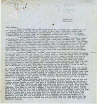 Letter from Gertrude Sanford Legendre, August 12, 1943