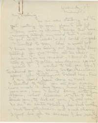 Letter 1 from Gertrude Sanford Legendre, August 8, 1945