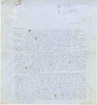 Letter from Gertrude Sanford Legendre, July 2, 1943