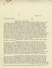 Letter from Gertrude Sanford Legendre, February 6, 1943
