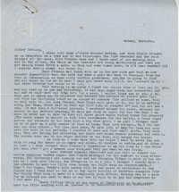 Letter from Gertrude Sanford Legendre, March 5, 1943