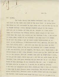 Letter from Gertrude Sanford Legendre, November 10, 1942