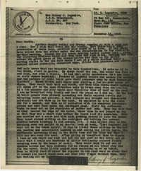Letter from Sidney Jennings Legendre, December 13, 1943