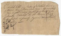 Petition from Elizabeth Ellis to the St. Andrew's Society