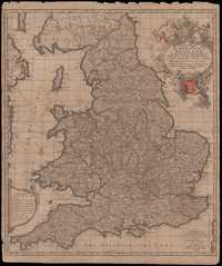 09. A New Mapp of The Kingdome of England