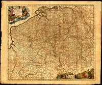 15. Belgii Pars Meridionalis cum Occidentalibus Germaniae