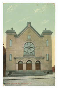 Jewish church. Mc. Keesport, Pa.