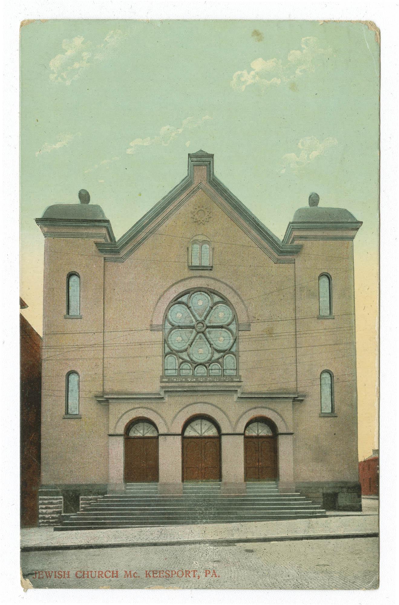 Jewish church. Mc. Keesport, Pa.