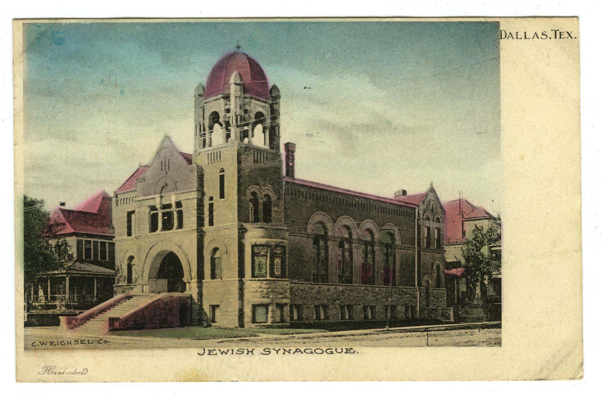 Jewish Synagogue, Dallas, Tex.