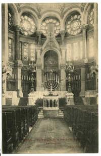 PARIS. - Synagogue, de la rue de la Victoire. Le Chœur