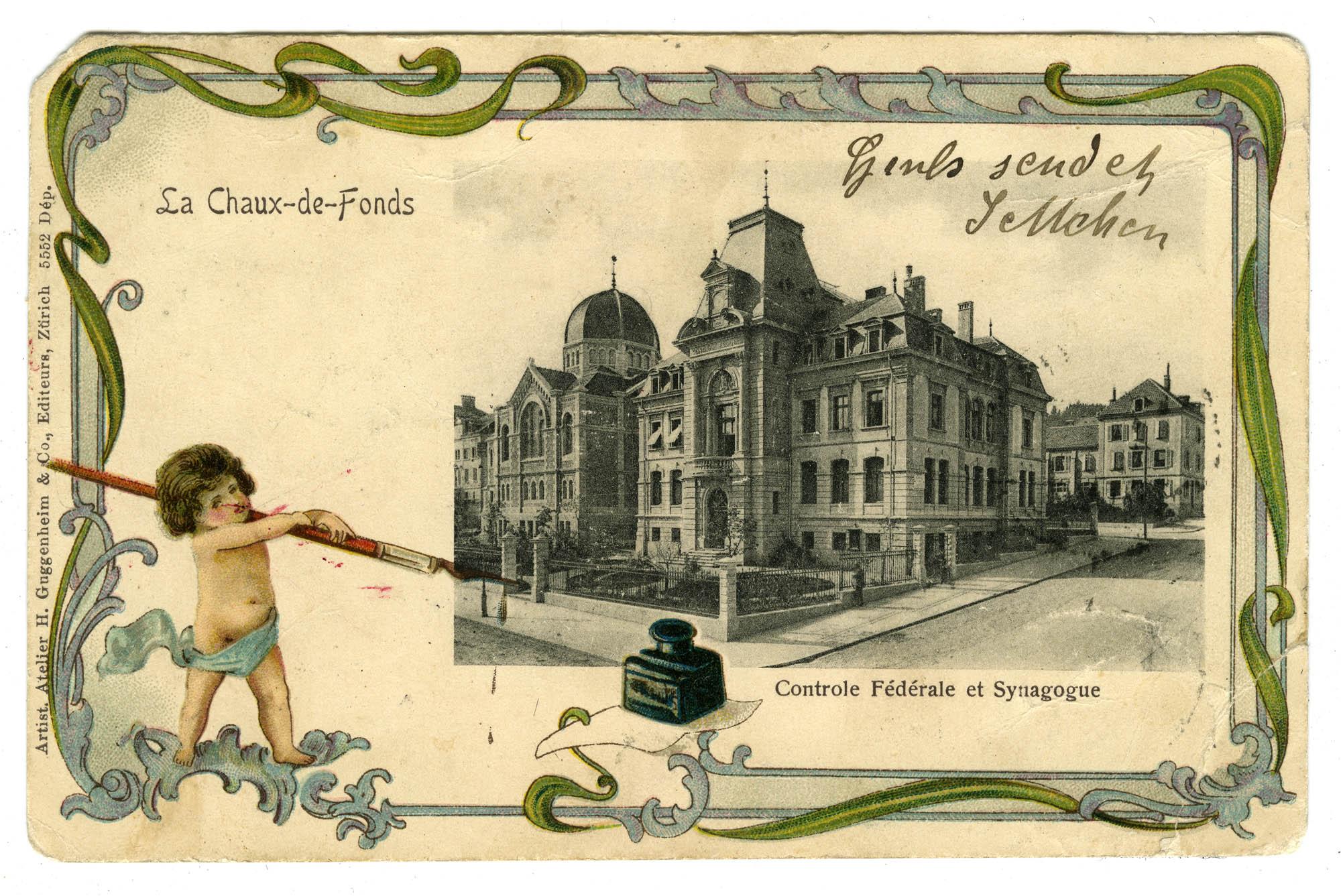 La Chaux-de-Fonds, Controle Fédérale et Synagogue