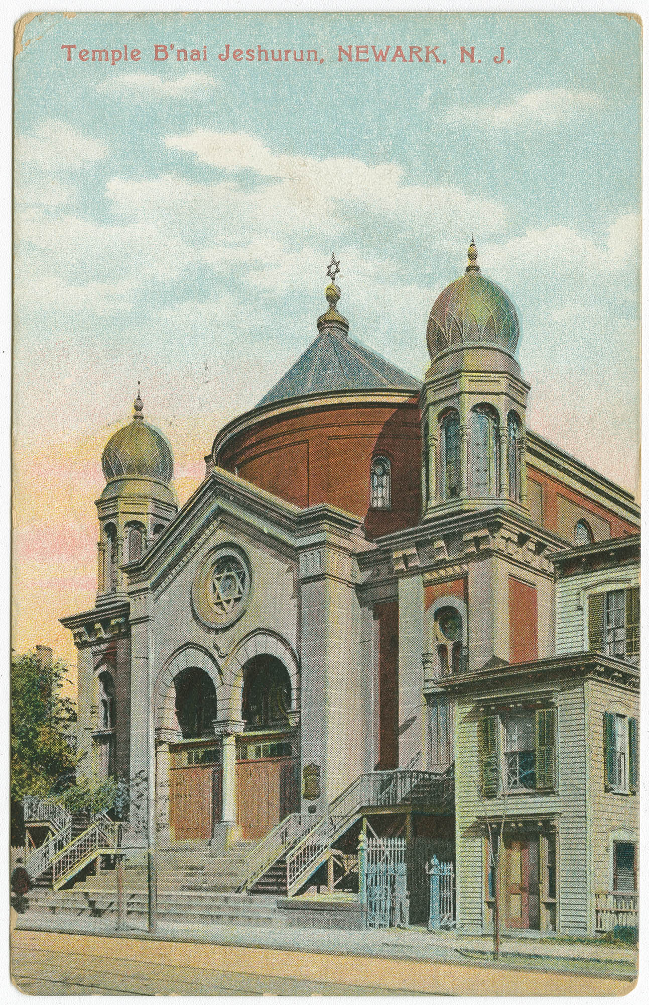 Temple B'nai Jeshurun, Newark, N.J.