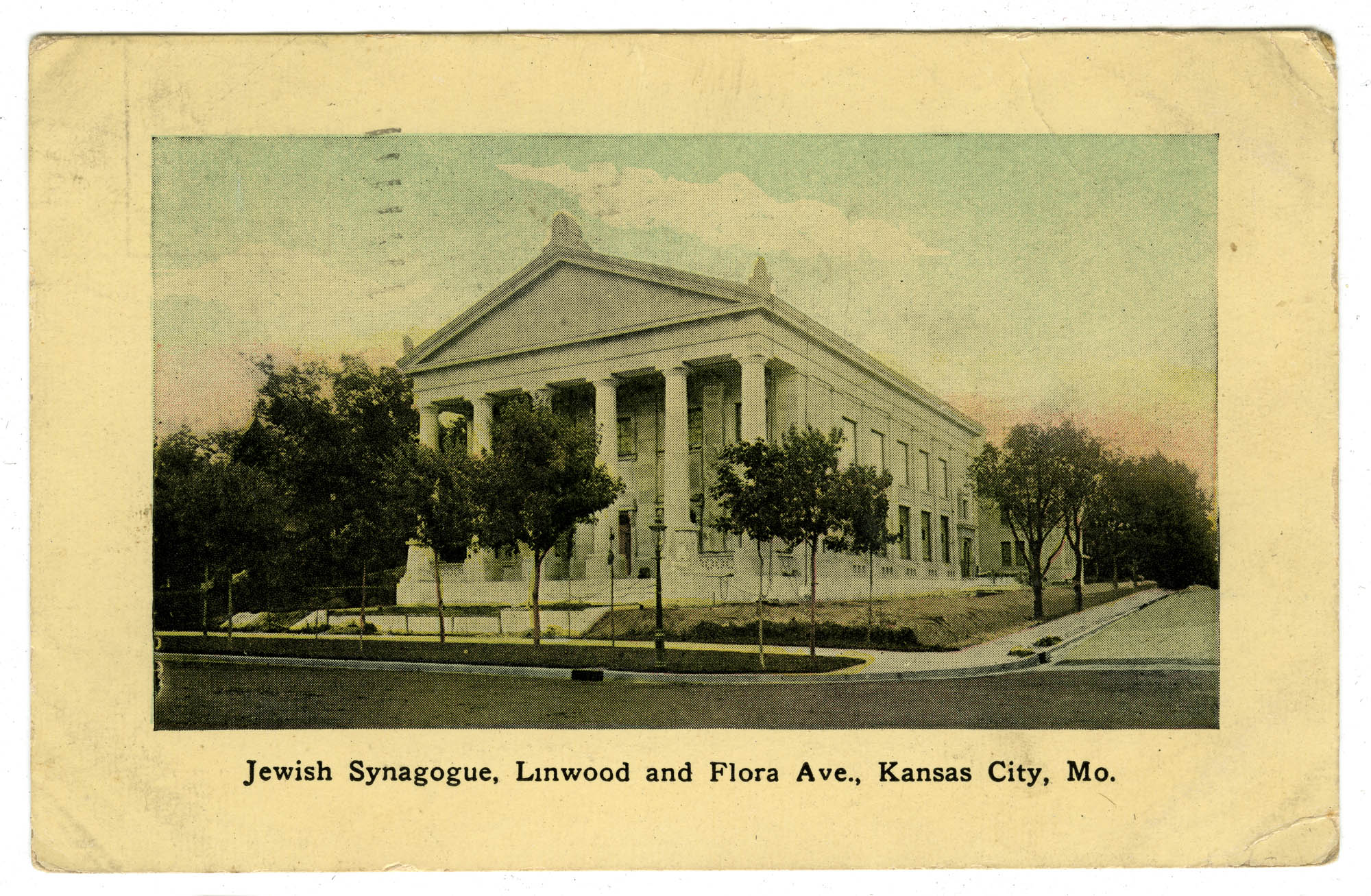 Jewish Synagogue, Linwood and Flora Ave., Kansas City, Mo.