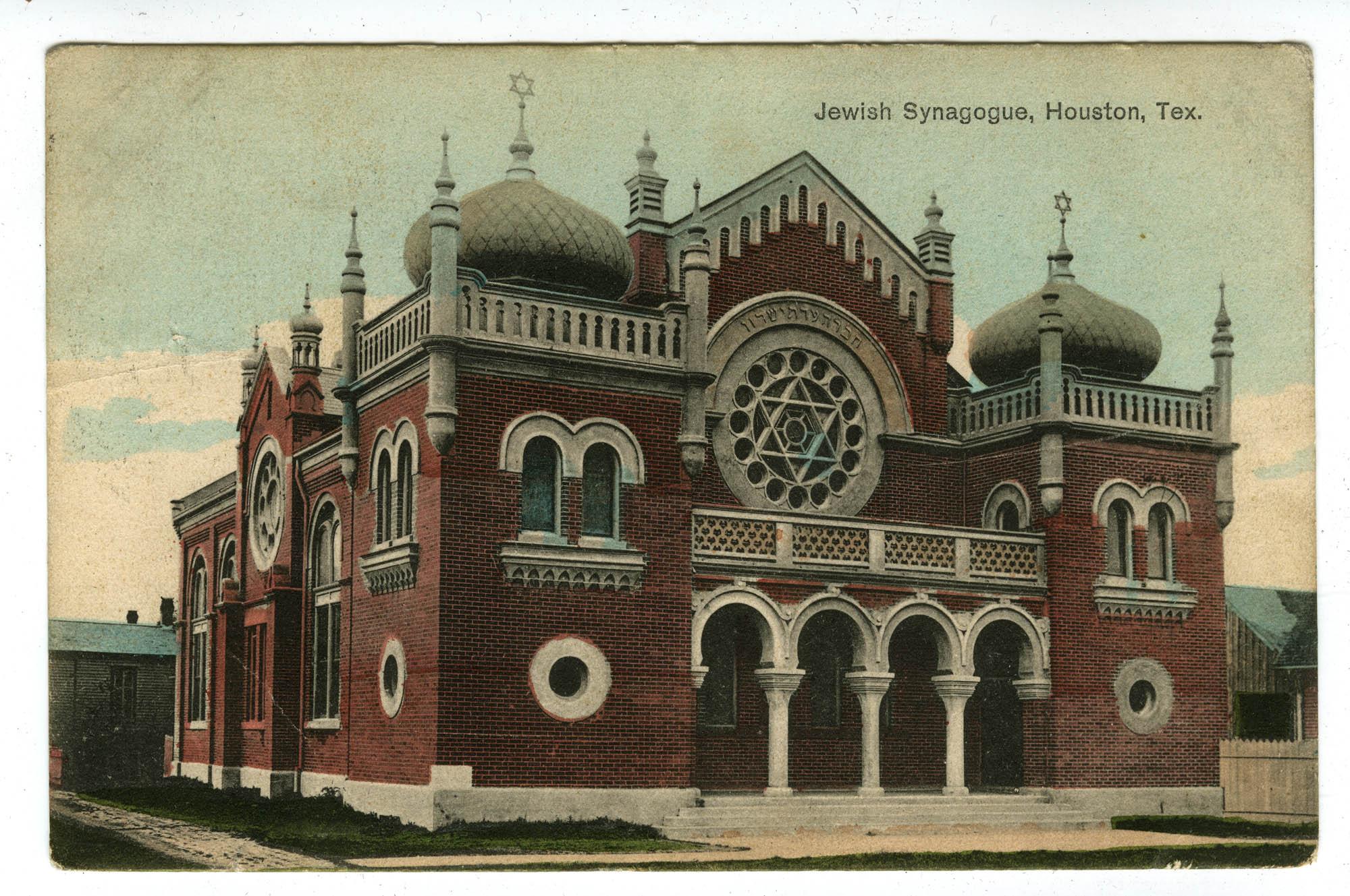 Jewish Synagogue, Houston, Tex.