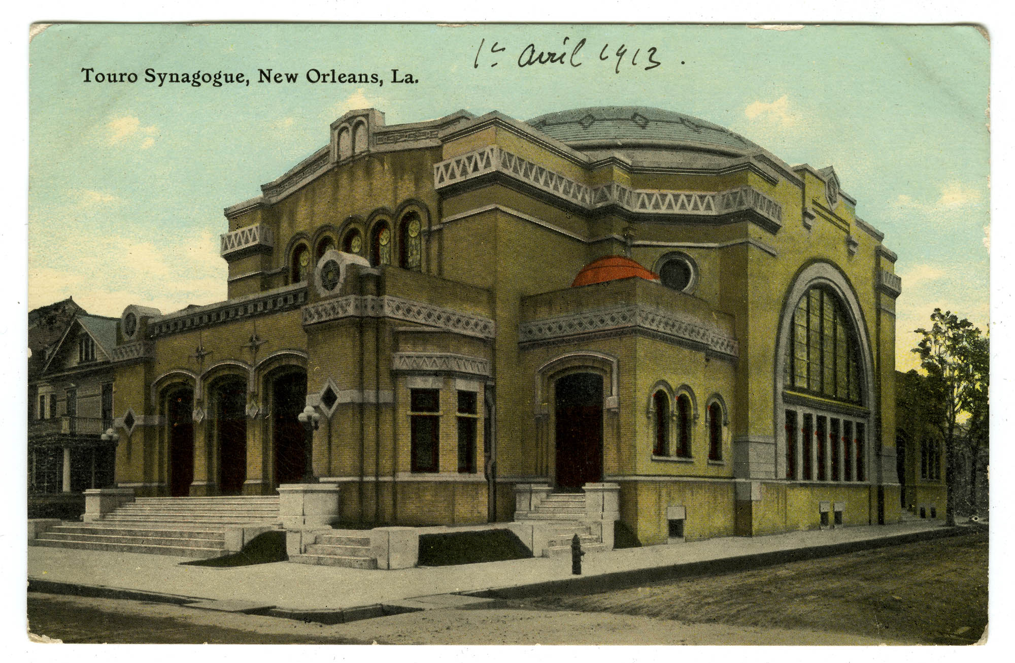 Touro Synagogue, New Orleans, La.