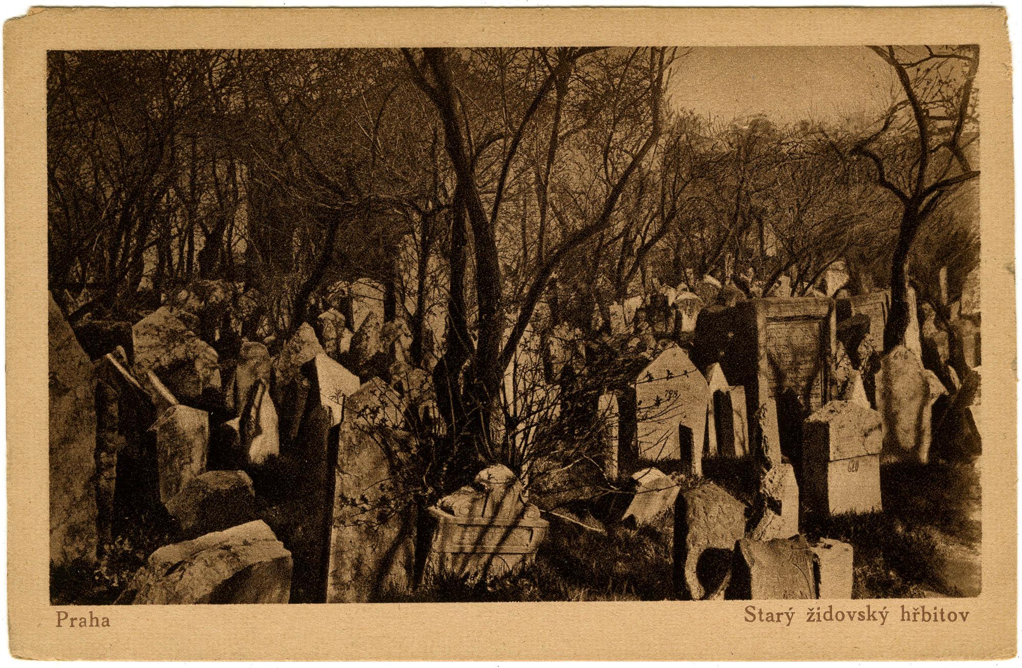 Praha, Starý židovský hřbitov