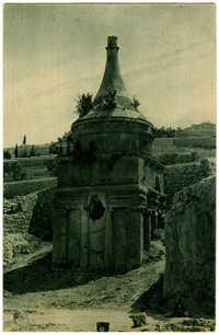 Absalom's Pillar and Mary's well / יד אבשלום מצבה בנחל קדרון