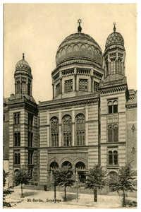 Berlin. Synagoge.