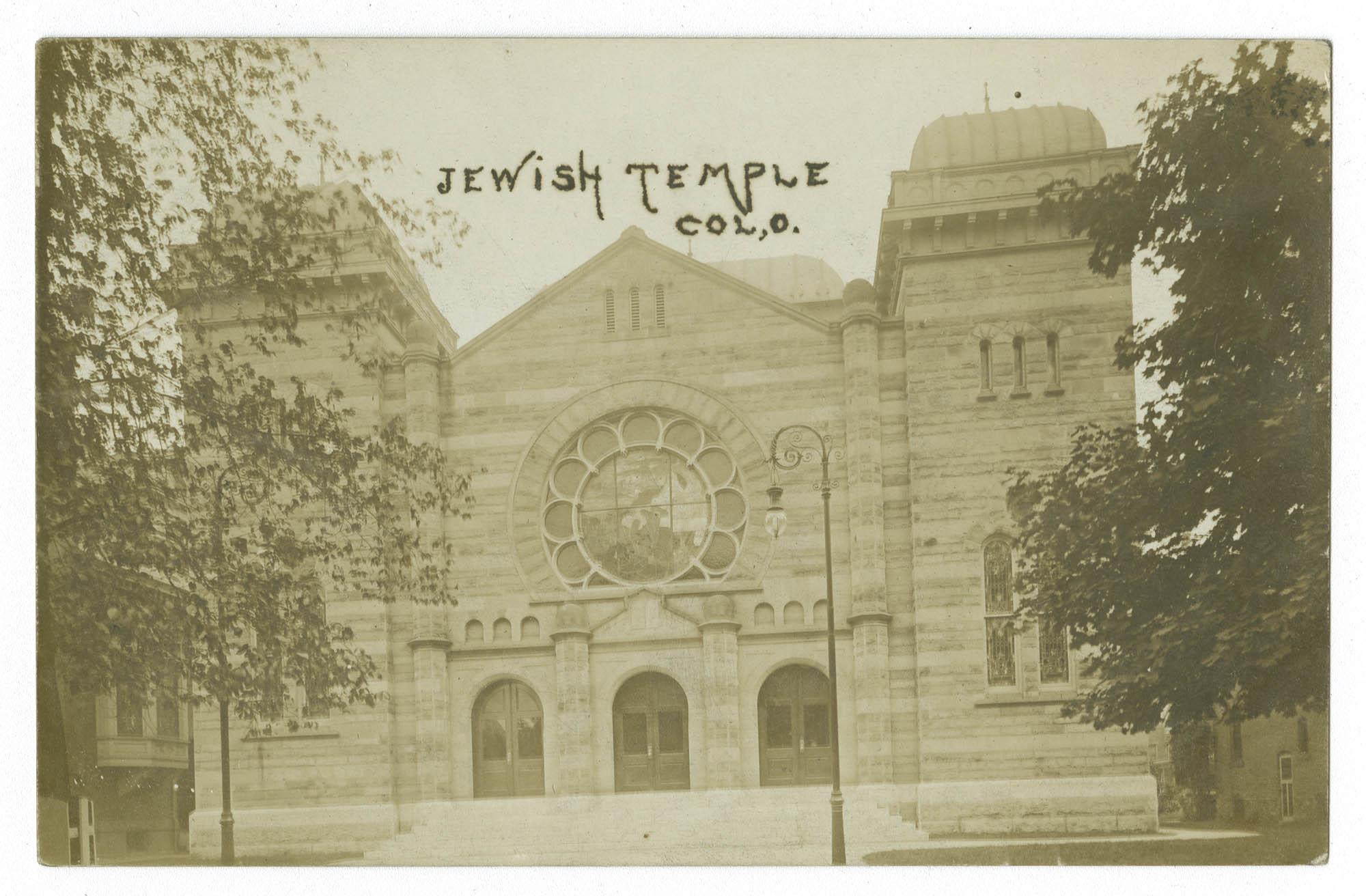 Jewish Temple, Col, O.