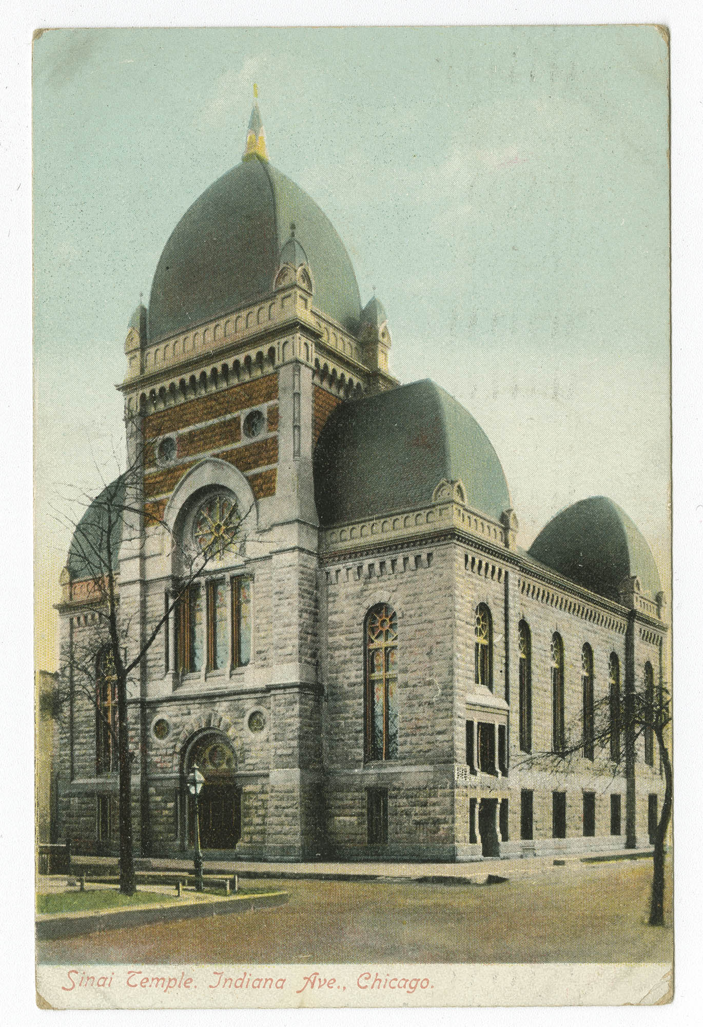 Sinai Temple, Indiana Ave., Chicago
