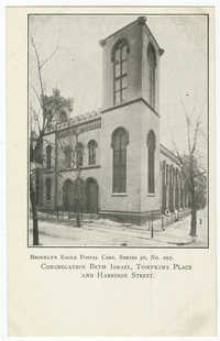 Congregation Beth Israel, Tompkins Place and Harrison Street