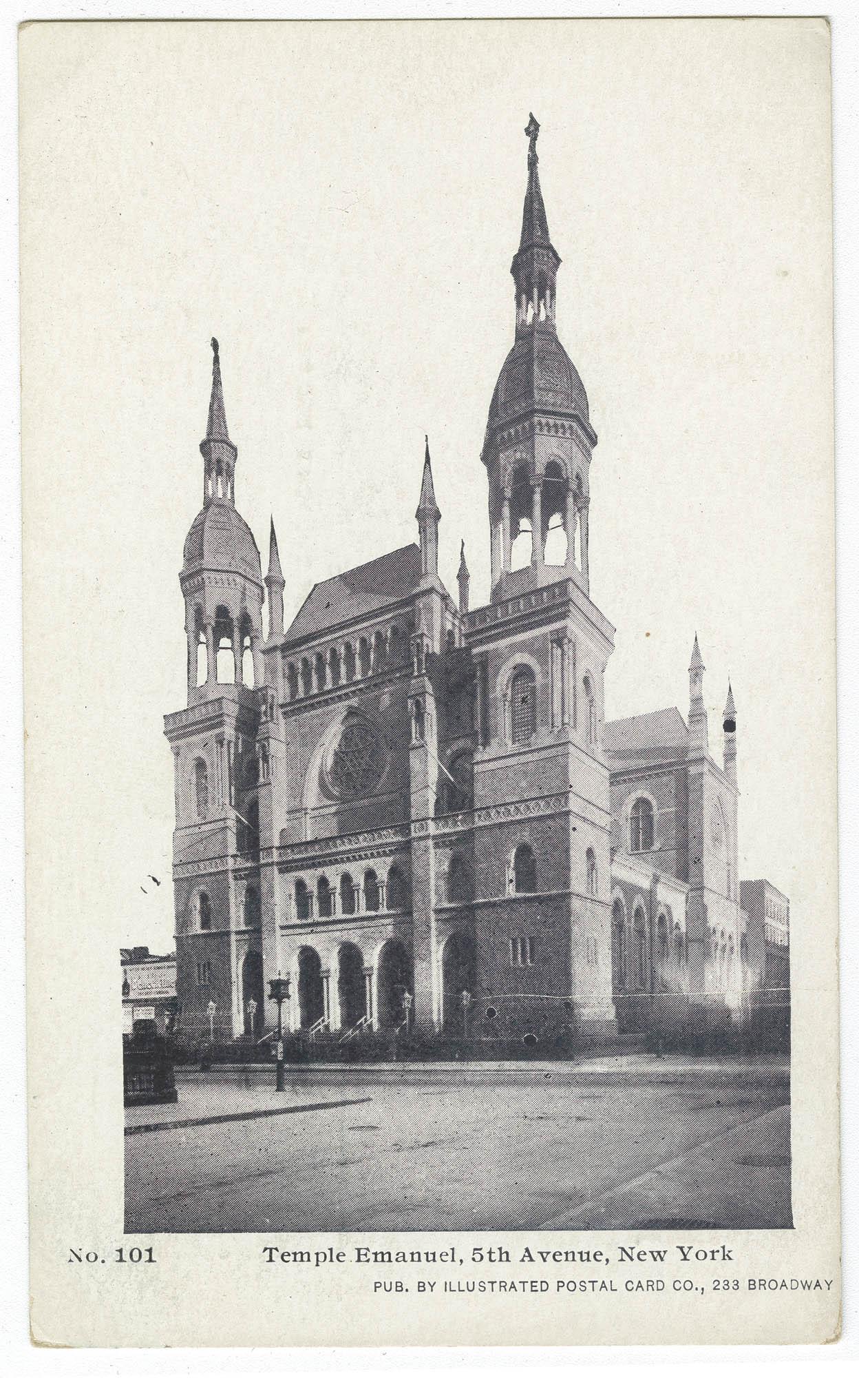 Temple Emanuel, 5th Avenue, New York