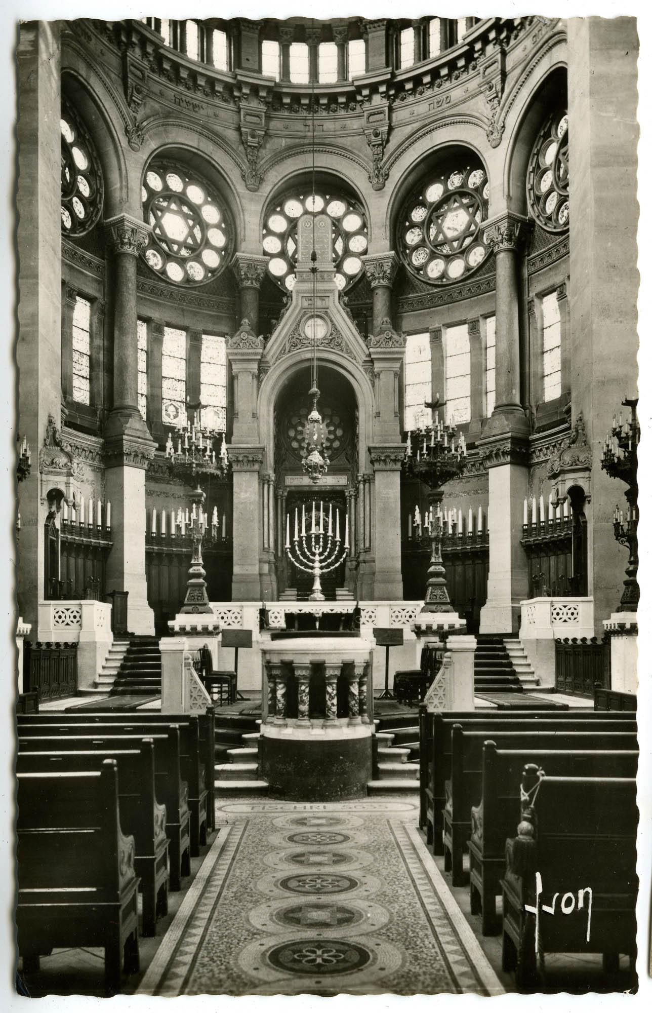 Grande Synagogue de Paris (1874). La Chœur / The Choir.
