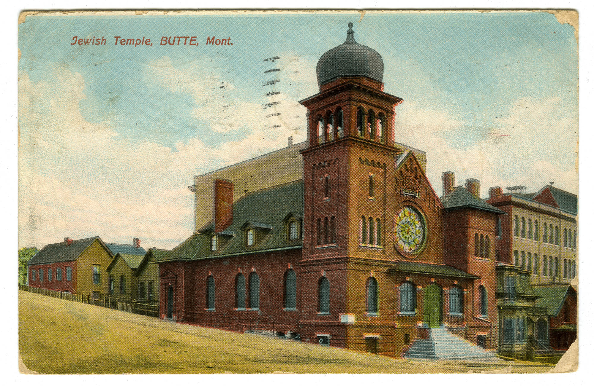 Jewish Temple, Butte, Mont.