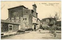 Toledo - Sinagoga del Tránsito y Casa del Greco