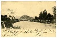 Graz. Murfluss mit der Flosslend.