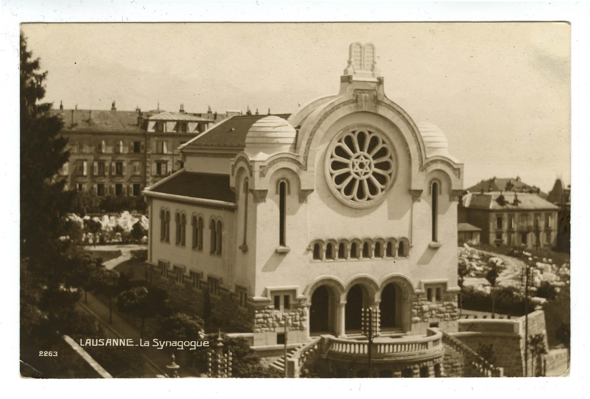 Lausanne - La Synagogue