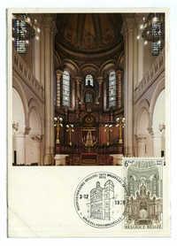 Bruxelles - Rue de la Régence, Intérieur de la Synagogue / Bruxelles - Regentschapsstraat, Binnenzicht van de Synagoog